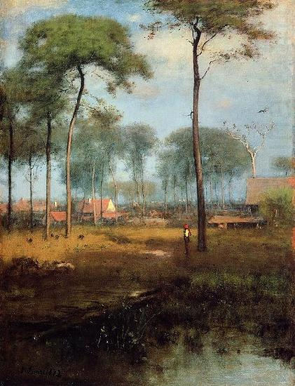 Early Morning, Tarpon Springs, George Inness