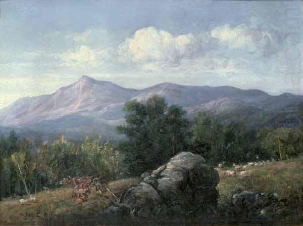 George Loring Brown Moat Mt from Jackson NH