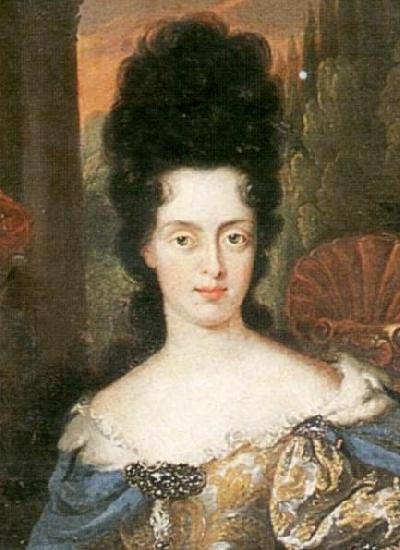 Portrait Of Anna Maria Luisa De Medici Electress