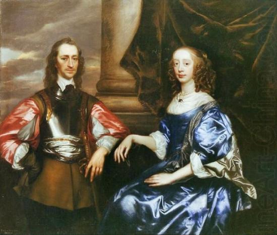Earl and Countess of Oxford by Sir Peter lely, Sir Peter Lely