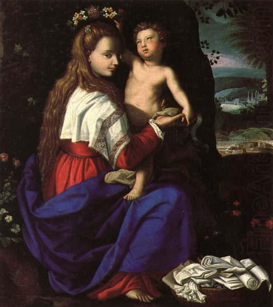ALLORI Alessandro Madonna and Child
