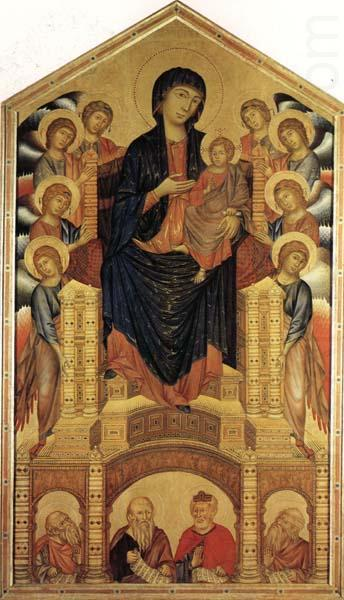 cimabue madonna enthroned with angels