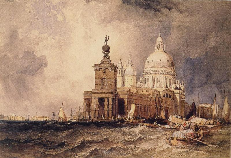 Venice:The Dogana and the Salute, Clarkson Frederick Stanfield
