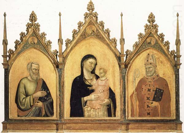 Madonna and Child with SS.Mat-thew and Nicholas of Bari, DADDI, Bernardo