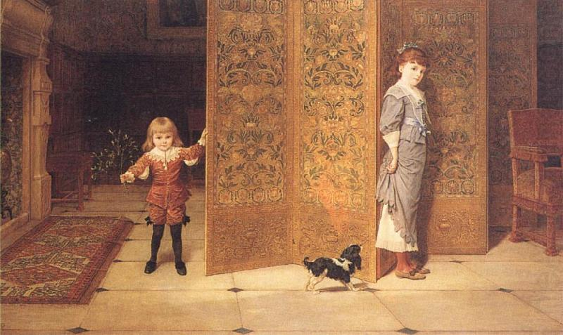 Puritan and Cavalier, Frederick Goodall