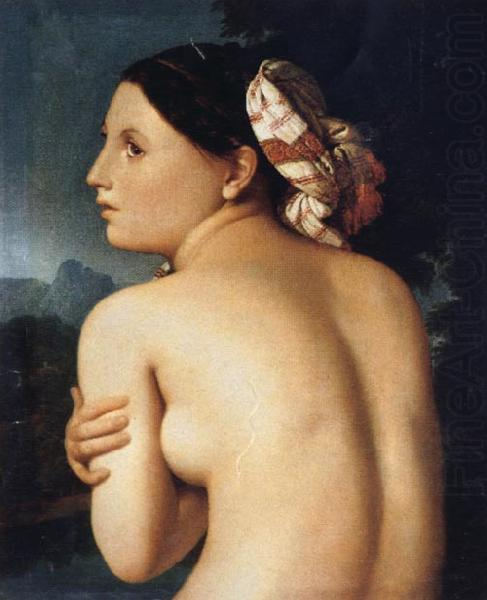 Back View of a Bather, Jean-Auguste Dominique Ingres