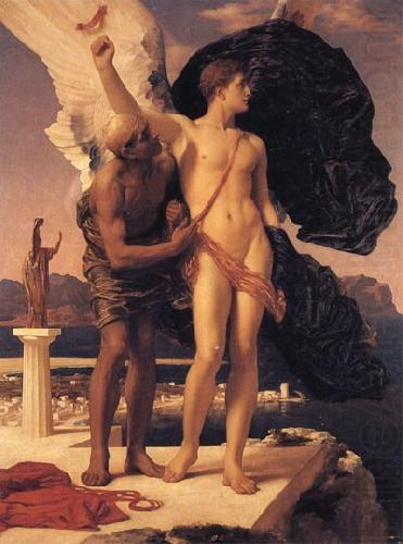Daedalus and Icarus, Lord Frederic Leighton