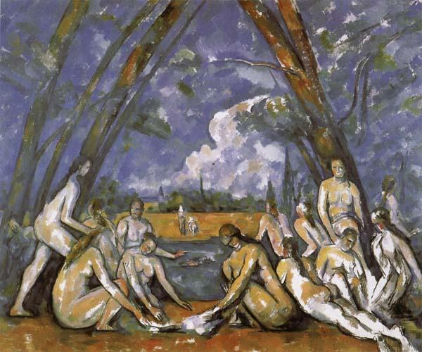 The Large Bathers, Paul Cezanne
