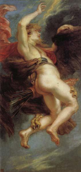 The Abduction fo Ganymede, Peter Paul Rubens