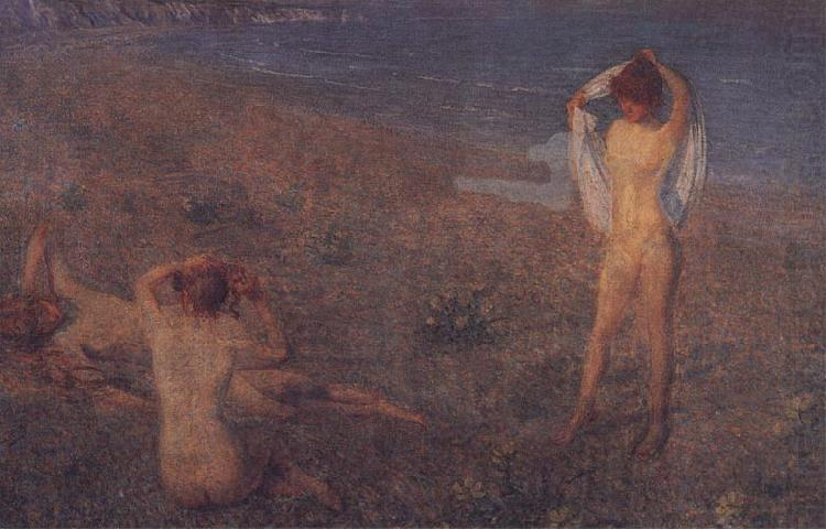 A Summer's Evening, Philip Wilson Steer