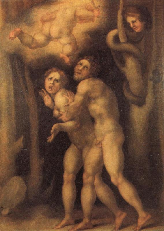The Fall of Adam and Eve, Pontormo