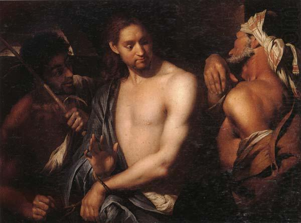 The mocking of christ, unknow artist