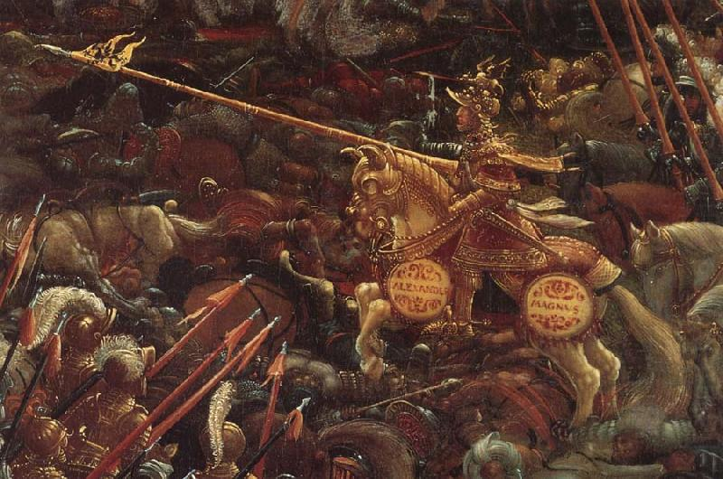 Details of the battle of issus albrecht altdorfer for Battle of issus painting