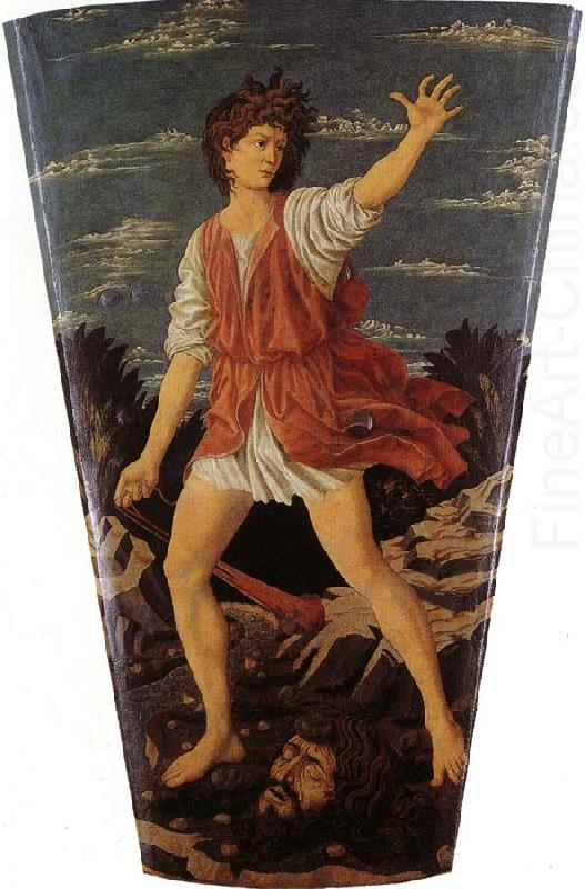 Andrea Del Castagno David The Youthful David Andrea Del