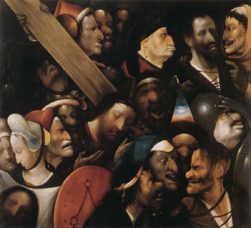 Christ Carrying the Cross, BOSCH, Hieronymus