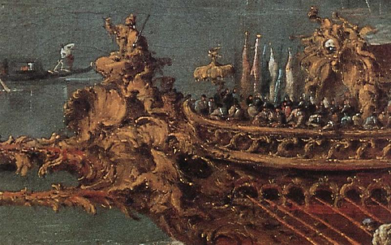 Details of he Departure of the Doge on Ascension Day, Francesco Guardi