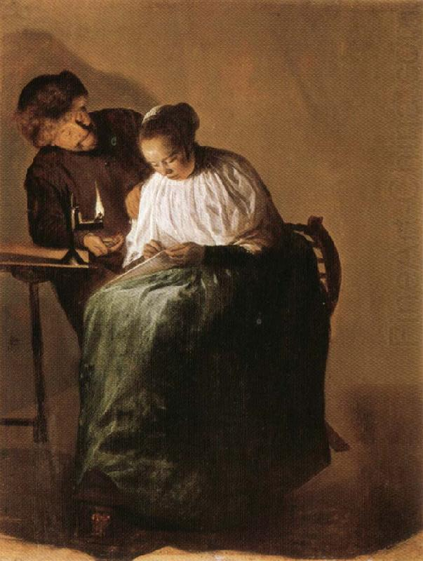 The Proposition, Judith leyster
