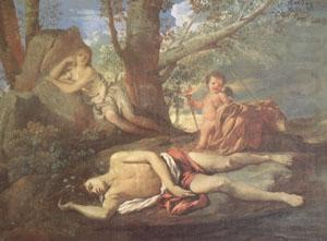 E-cho and Narcissus (mk05), Nicolas Poussin