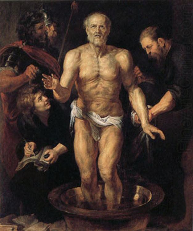 The Death of Seneca (mk01), Peter Paul Rubens