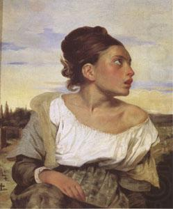 Orphan Girl at the Cemetery (mk05), Eugene Delacroix
