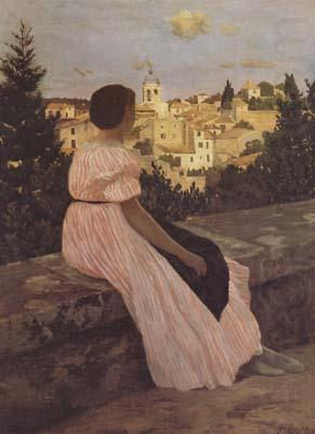 The Pink Dress (mk06), Frederic Bazille