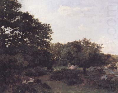 Forest of Fontainebleau (mk06), Frederic Bazille