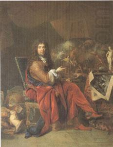 Charles Le Brun Painter to the King (mk05), Largillierre