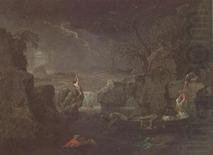 Winter or the Deluge (mk05), Poussin