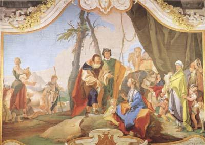 Rachel Hiding the Idols from her Father Laban (mk08), Giovanni Battista Tiepolo