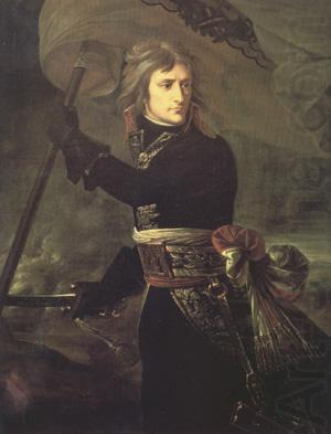Napoleon Bonaparte on the Bridge at Arcole (nn03), Baron Antoine-Jean Gros