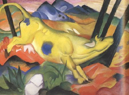 Yellow Cow (mk34), Franz Marc