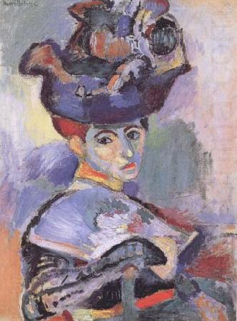 Woman with Hat (Madame Matisse) (mk35), Henri Matisse