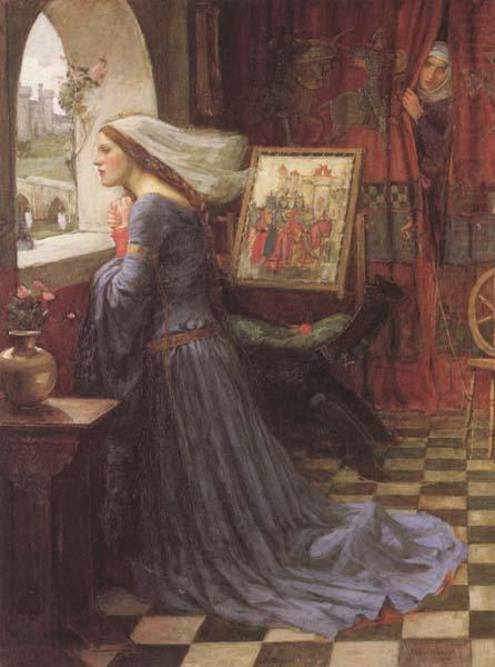 Fair Rosamund (mk41), John William Waterhouse
