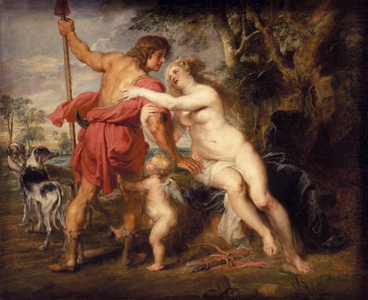 Venus and Adonis (mk27), Peter Paul Rubens