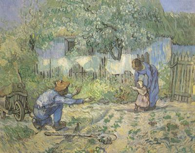 First Steps (nn04), Vincent Van Gogh