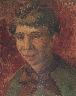 van gogh portrait woman. Portrait of a Woman (nn04), Vincent Van Gogh