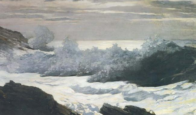 Early Morning After a Storm at Sea (mk44), Winslow Homer