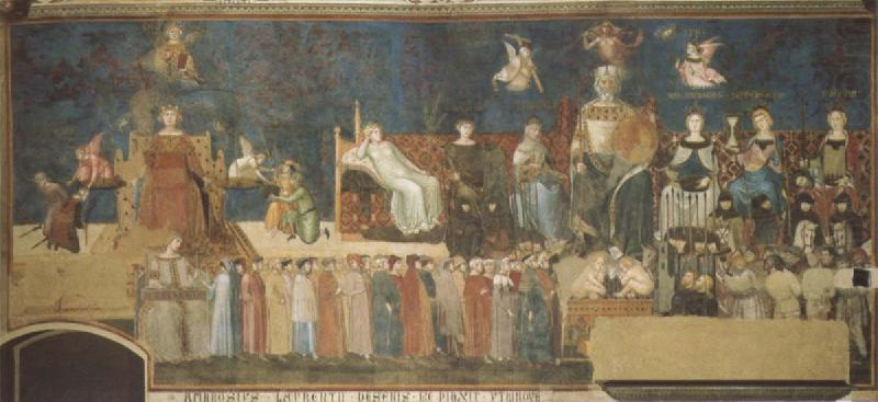 Allegory of Good and Bad Government, Ambrogio Lorenzetti