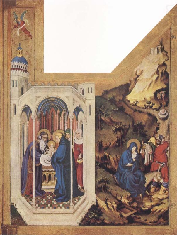 The Presentation In The Temple And The Flight To Egypt