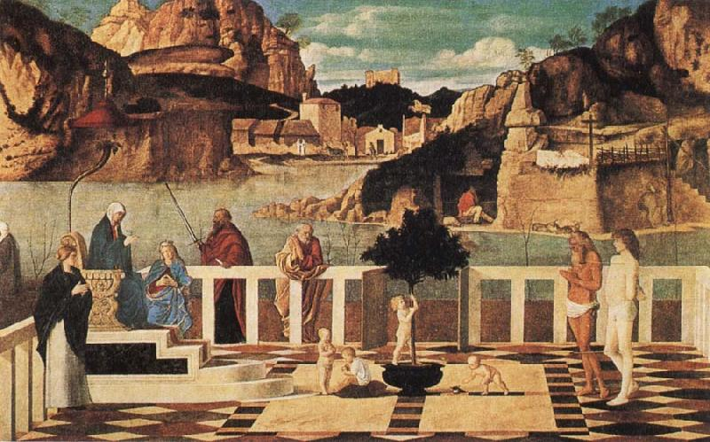 Christian Allegory Gentile Bellini Wholesale Oil Painting