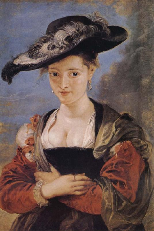 Portrait of Susanne Florment, Peter Paul Rubens