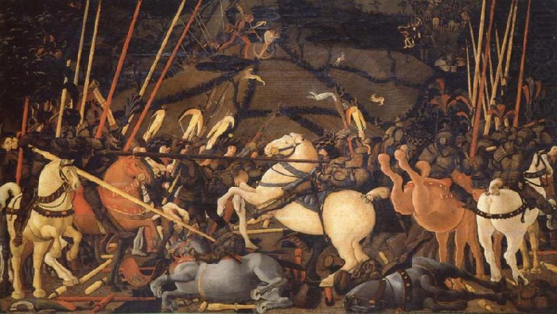 UCCELLO, Paolo The Battle of San Romano